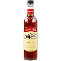 DaVinci Gourmet 750 mL Classic Amaretto Flavoring Syrup