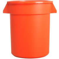 Carlisle 34102024 Bronco 20 Gallon Orange Trash Can