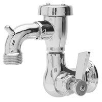 Fisher 29556 Wall Mounted Service Sink Faucet with 3 inch Service Sink Spout, Garden Hose Outlet, and Lever Handle