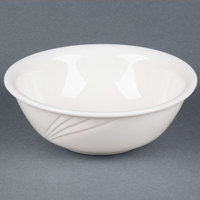CAC GAD-82 Garden State 60 oz. Bone White Porcelain Bowl - 12/Case
