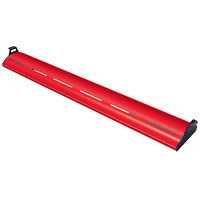 Hatco HL5-72 Glo-Rite 72 inch Warm Red Curved Display Light with Cool Lighting - 18.9W, 120V