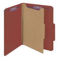 Smead 13775 SafeSHIELD Letter Size Classification Folder - 10/Box