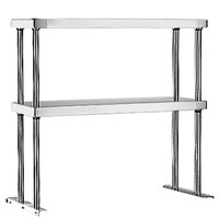 Eagle Group DOS-HT2 Stainless Steel Double Deck Overshelf - 33 inch x 10 inch