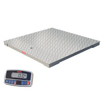 Tor Rey PLP-4/4-2500/5000 Pro-Tek 5000 lb. 4' x 4' Platform Receiving Scale
