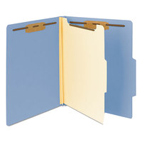 Smead 13701 Heavyweight Letter Size Classification Folder - 10/Box