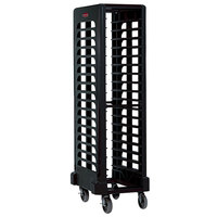 Rubbermaid FG331700BLA ProServe 18 Pan Black Max System End Load Steam Table Pan Rack - Unassembled