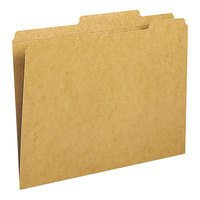 Smead 10776 Letter Size File Folder - Guide Height with Reinforced 2/5 Cut Right of Center Tab, Kraft - 100/Box