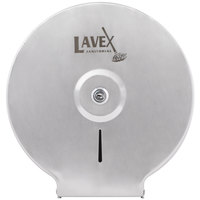 Lavex Janitorial Stainless Steel Surface-Mounted Jumbo Single-Roll Toilet Tissue Dispenser