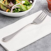 Chef & Sommelier T4929 Renzo 7 1/4 inch 18/10 Stainless Steel Extra Heavy Weight Salad Fork by Arc Cardinal - 36/Case
