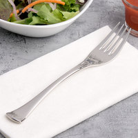 Chef & Sommelier T5129 Diaz 7 1/4 inch 18/10 Stainless Steel Extra Heavy Weight Salad Fork by Arc Cardinal - 36/Case
