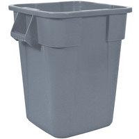 Rubbermaid FG353600GRAY BRUTE 40 Gallon Square Gray Trash Can