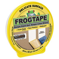 Duck Tape 280220 FROGTAPE 15/16 inch x 60 Yards Yellow Painter's Tape