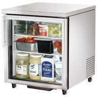True TUC-27G-ADA-HC-LD 27 inch ADA Compliant Glass Door Undercounter Refrigerator