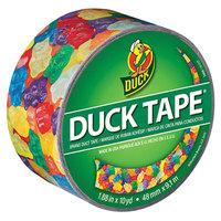 Duck Tape 282495 1 7/8 inch x 10 Yards Colored Gummy Bears Duct Tape