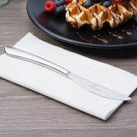 Chef & Sommelier T5408 Kya 8 1/4 inch 18/10 Stainless Steel Extra Heavy Weight Solid Handle Dessert Knife by Arc Cardinal - 36/Case