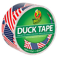 Duck Tape 283046 1 7/8 inch x 10 Yards Colored U.S.A. Flag Duct Tape