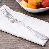 Chef & Sommelier T4905 Renzo 7 1/4 inch 18/10 Stainless Steel Extra Heavy Weight Dessert Fork by Arc Cardinal - 36/Case