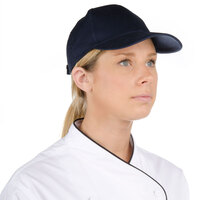 Navy Blue Chef Cap