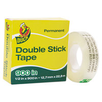 Duck Tape 1081698 1/2 inch x 25 Yards Clear Permanent Double-Stick Tape