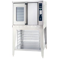 Alto-Shaam ASC-4G / E Platinum Series Natural Gas Full Size Convection Oven with Electronic Controls - 50,000 BTU