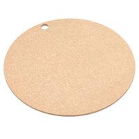 Epicurean 429-001201 Natural 12 inch Richlite Wood Fiber Round Pizza Board