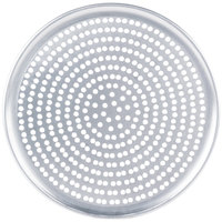 American Metalcraft SPHACTP17 17 inch Super Perforated Heavy Weight Aluminum Coupe Pizza Pan