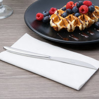 Arcoroc T7808 Satineo 8 1/4 inch 18/0 Stainless Steel Heavy Weight Solid Handle Dessert Knife by Arc Cardinal - 48/Case
