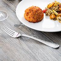World Tableware 794 039 Aspire 8 1/4 inch 18/0 Stainless Steel Medium Weight European Dinner Fork - 36/Case