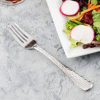 World Tableware 794 038 Aspire 6 3/4 inch 18/0 Stainless Steel Heavy Weight Salad Fork - 36/Case