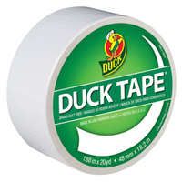 Duck Tape 1265015 1 7/8 inch x 20 Yards Colored White Duct Tape
