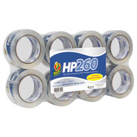 Duck Tape 0007424 HP260 1 7/8 inch x 60 Yards Clear Packaging Tape - 8/Pack