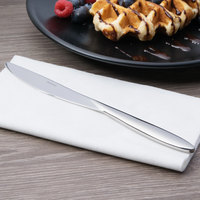 Arcoroc T3808 Nuovo 8 1/4 inch 18/10 Stainless Steel Extra Heavy Weight Dessert Knife by Arc Cardinal - 12/Case
