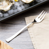 Arcoroc T3621 Latham 6 inch 18/10 Stainless Steel Extra Heavy Weight Oyster Fork by Arc Cardinal - 12/Case