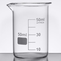 American Metalcraft GBE2 Chemistry Collection 1.75 oz. (50 mL) Beaker Glass