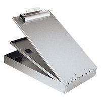 Saunders 21017 Cruiser Mate 1 1/2 inch Capacity 12 inch x 8 1/2 inch Silver Recycled Aluminum Storage Clipboard
