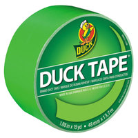 Duck Tape 1265018 1 7/8 inch x 15 Yards Colored Neon Green Duct Tape
