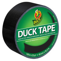 Duck Tape 1265013 1 7/8 inch x 20 Yards Colored Black Duct Tape