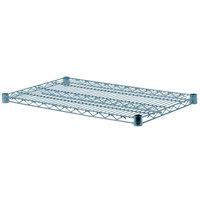 Regency 18 inch x 30 inch NSF Green Epoxy Wire Shelf