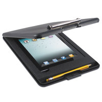 Saunders 65558 SlimMate 1/2 inch Capacity 11 3/4 inch x 9 inch Black iPad Air Storage Clipboard
