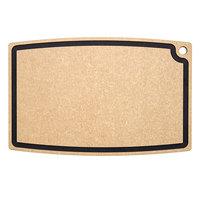 Epicurean 006-27180102 Chef Series Natural/Slate 27 inch x 18 inch x 1/2 inch Richlite Wood Fiber Rectangular Cutting Board