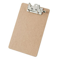 Saunders 05712 2 inch Capacity 12 inch x 8 1/2 inch Brown Arch Clipboard