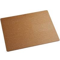 Epicurean 014-211601025 Big Block Series 21 inch x 16 inch x 1 inch Natural Richlite Wood Fiber Rectangle Cutting and Serving Board