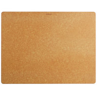 Epicurean 014-211601025 Big Block Series 21 inch x 16 inch x 1 inch Natural Richlite Wood Fiber Cutting and Serving Board