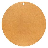 Epicurean 429-001801 18 inch Natural Richlite Wood Fiber Round Pizza Board