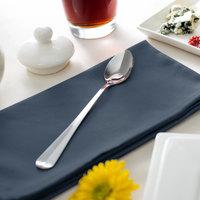Acopa Midland 7 inch 18/0 Stainless Steel Medium Weight Iced Tea Spoon - 12/Case