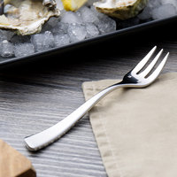 Chef & Sommelier T5221 Ezzo 5 7/8 inch 18/10 Stainless Steel Extra Heavy Weight Oyster / Cocktail Fork by Arc Cardinal - 36/Case