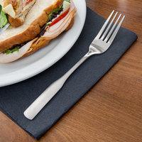 Acopa Bellwood 7 5/8 inch 18/0 Stainless Steel Medium Weight Dinner Fork - 12/Case