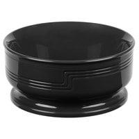 Cambro MDSB16110 Shoreline 16 oz. Black Entree Bowl - 48/Case