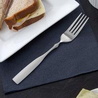 Acopa Delmont 7 7/8 inch 18/0 Stainless Steel Medium Weight Dinner Fork - 12/Case