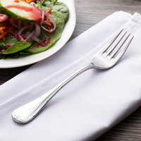 Chef & Sommelier T4829 Orzon 7 1/4 inch 18/10 Extra Heavy Weight Stainless Steel Salad Fork by Arc Cardinal - 36/Case